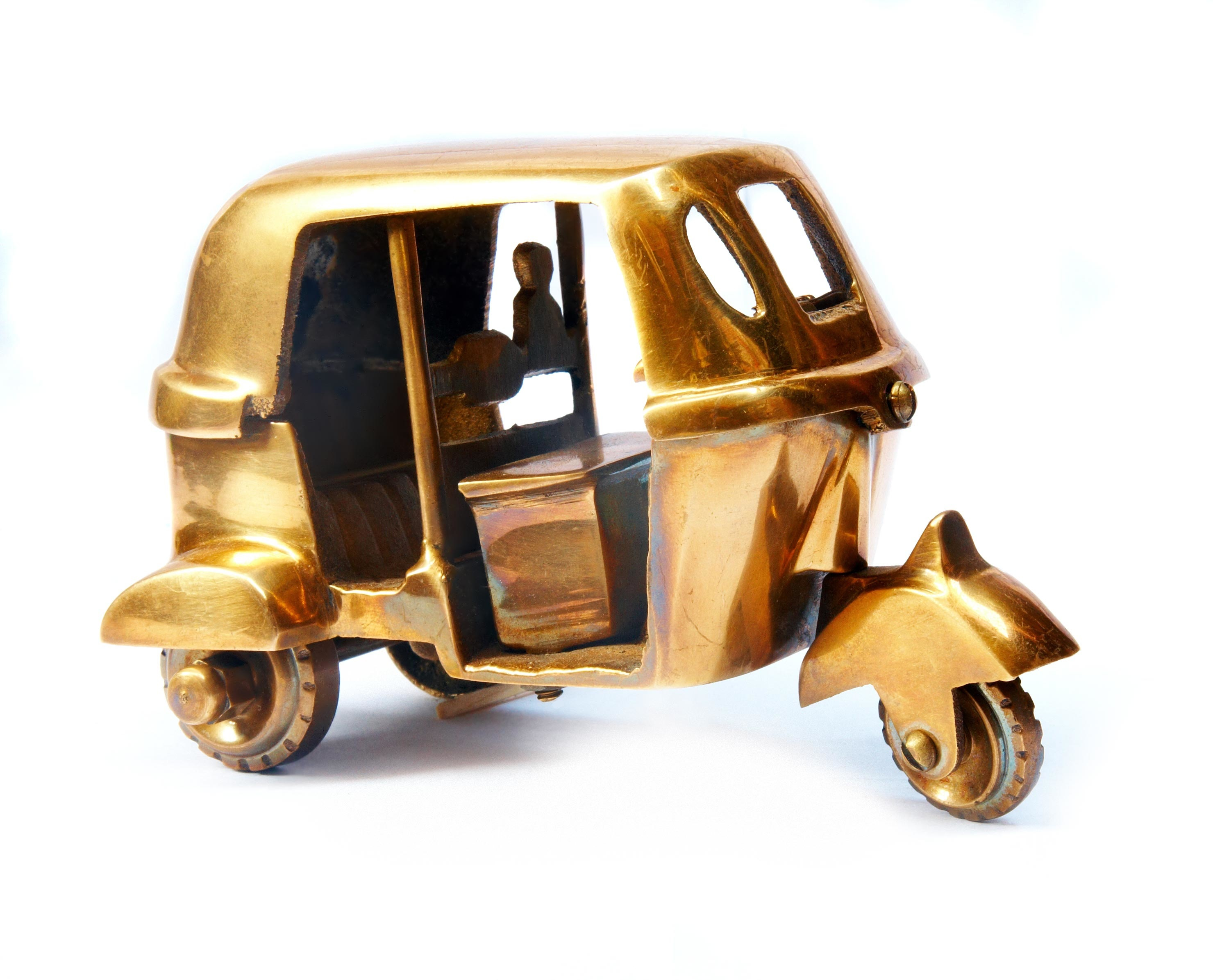 GOLDEN RICKSHAW TOY