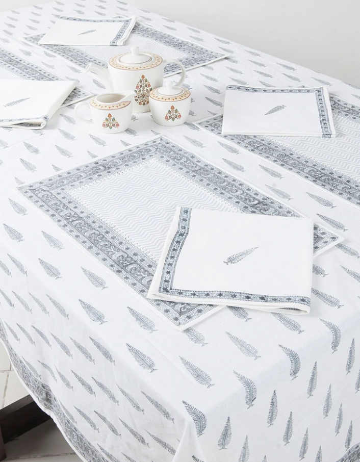 FABINDIA NAPKINS, TABLECLOTH, PLACEMATS